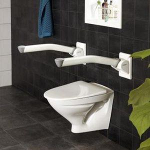 poręcz ułatwiająca korzystanie z toalety